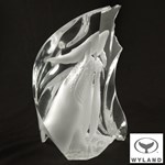 First Breath LIMITED EDITION Lucite Sculpture by acclaimed Marine Life artist Wyland, Numbered with Official Signature! Includes Certificate of Authenticity!