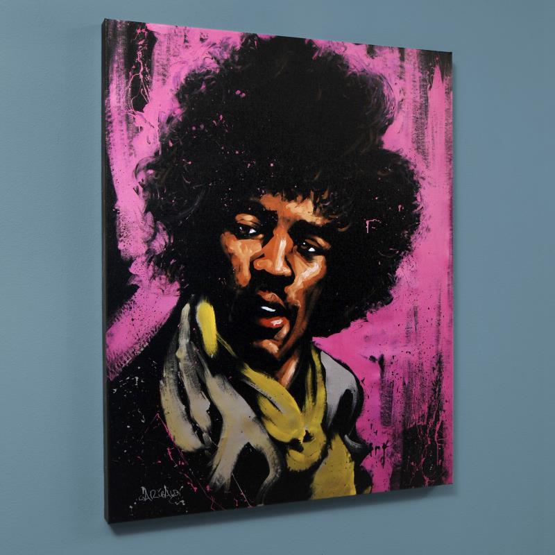 quotjimi hendrix purple hazequot expressionism david