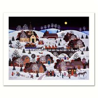 Jingle Bells and Carolers