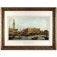 Canal of San Marco with the Piazza San Marco by Canaletto