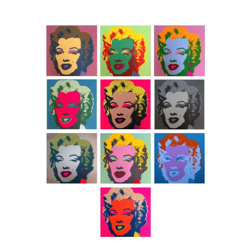 artist Andy Warhol-art